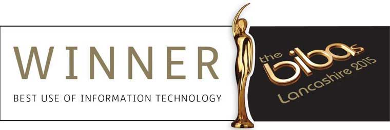 Bibas Winners of Best Use of Technology 2015