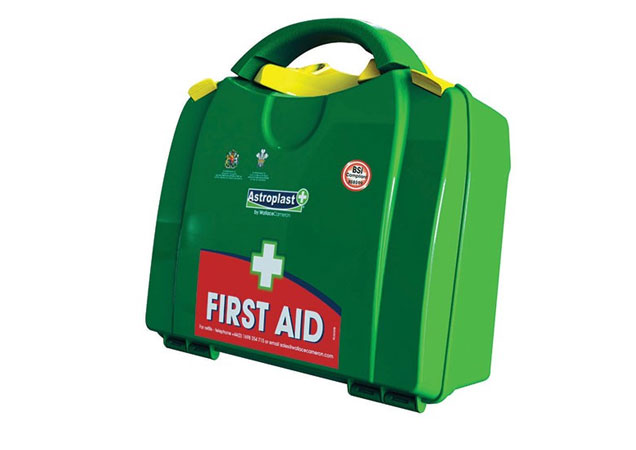 First aid supplies for construction