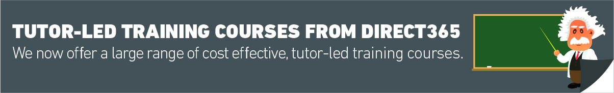 Tutor Led Training Courses