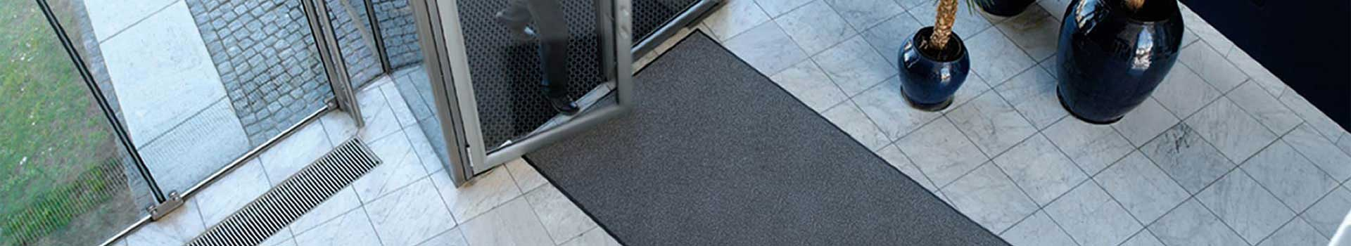 Commercial Serviced Logo Mats