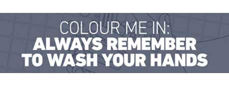 Colour Me In: Always Remember To Wash Your Hands