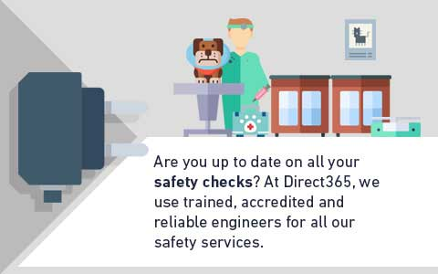 Are you up to date on all your safety checks? At Direct365, we use trained, accredited and reliable engineers for all our safety services.