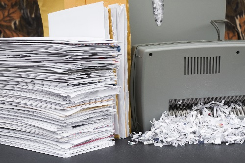 Confidential shredding services for your office