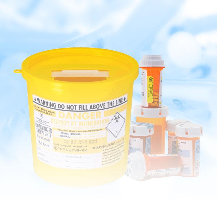 Clinical Waste Bins & Disposal