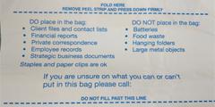 Our waste sacks